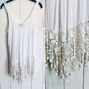 KiVARi Boho Tunic Top / Dress with Fringe ❤️